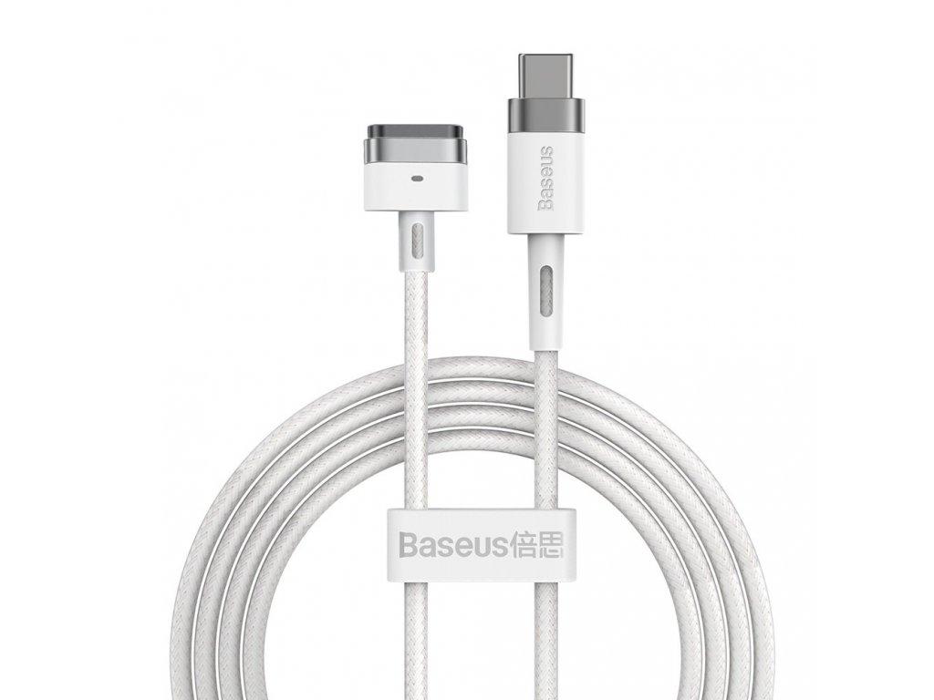 Baseus Zinc angular magnetic power cable pro MacBook Power - USB Type C 60W 2m white