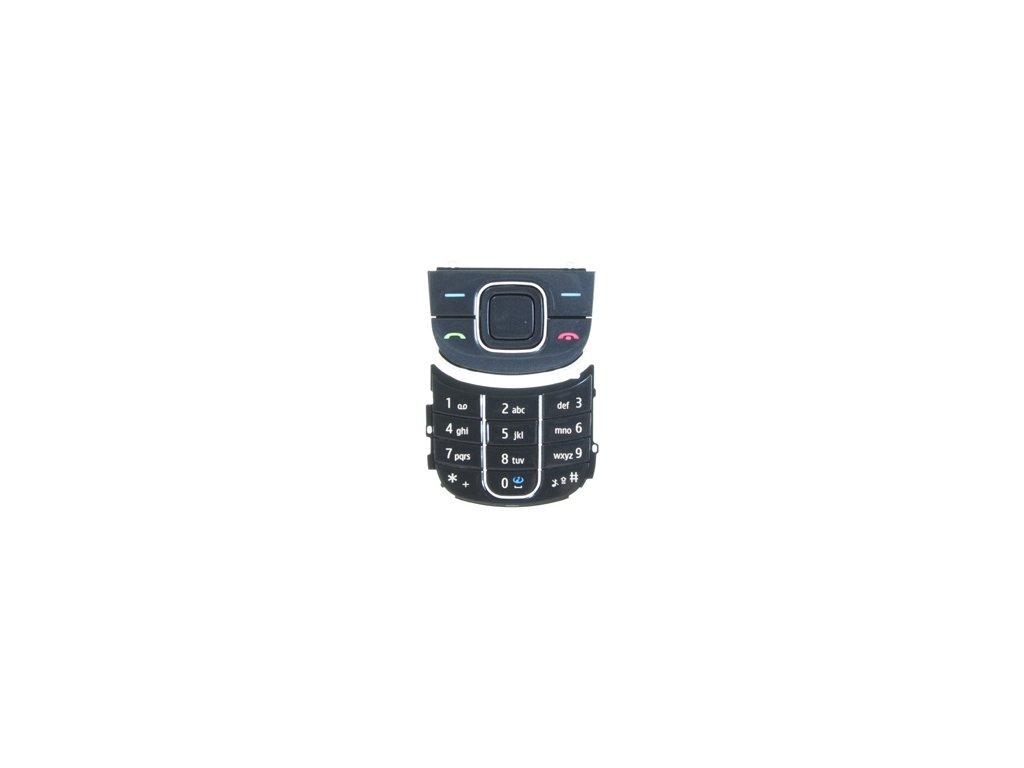 NOKIA 3600 Slide klávesnice charcoal black / černá
