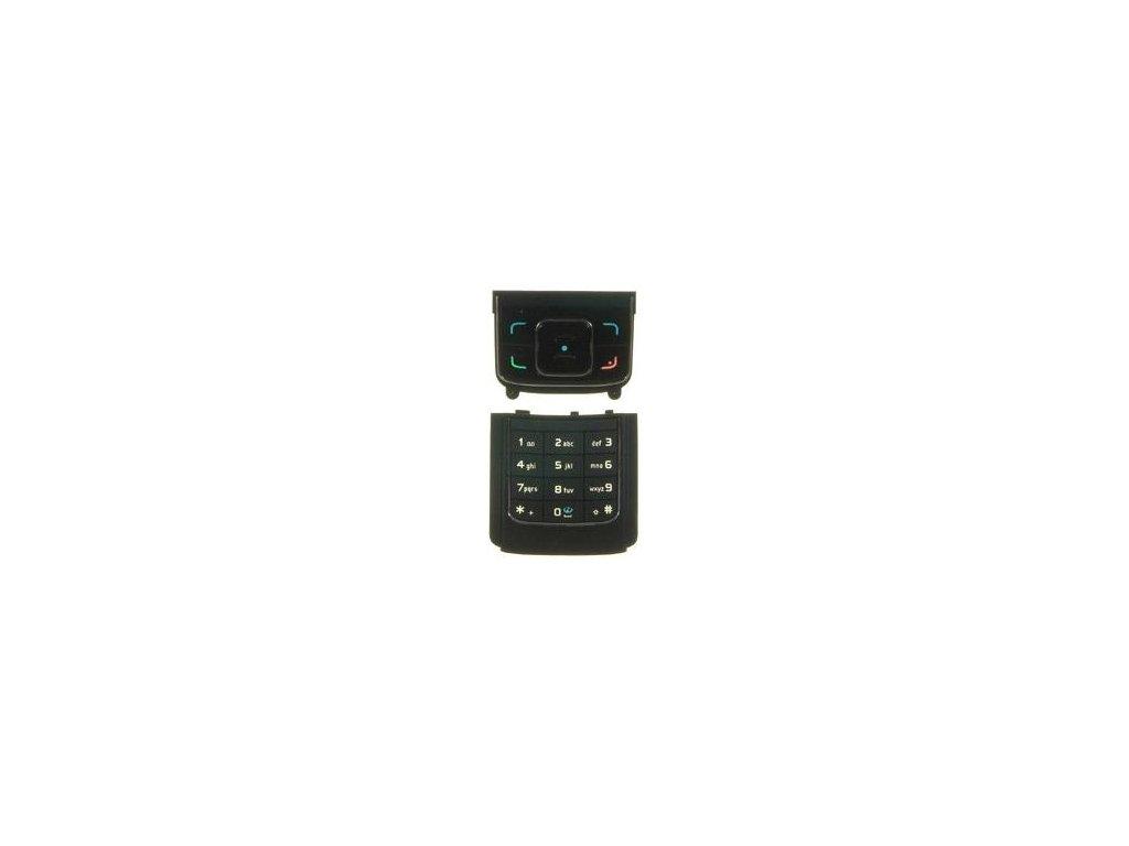 NOKIA 6288 klávesnice black / černá