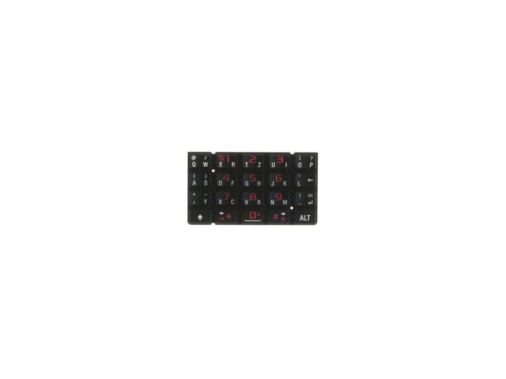 SonyEricsson P1i klávesnice black / černá