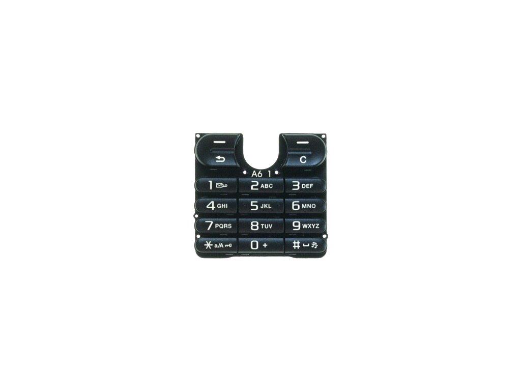 SonyEricsson W200i klávesnice black / černá