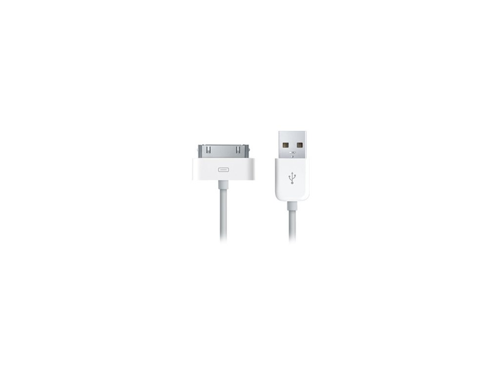 Datový kabel pro Apple iPhone 3G/3GS, 4/4S - OEM (bulk) white / bílý