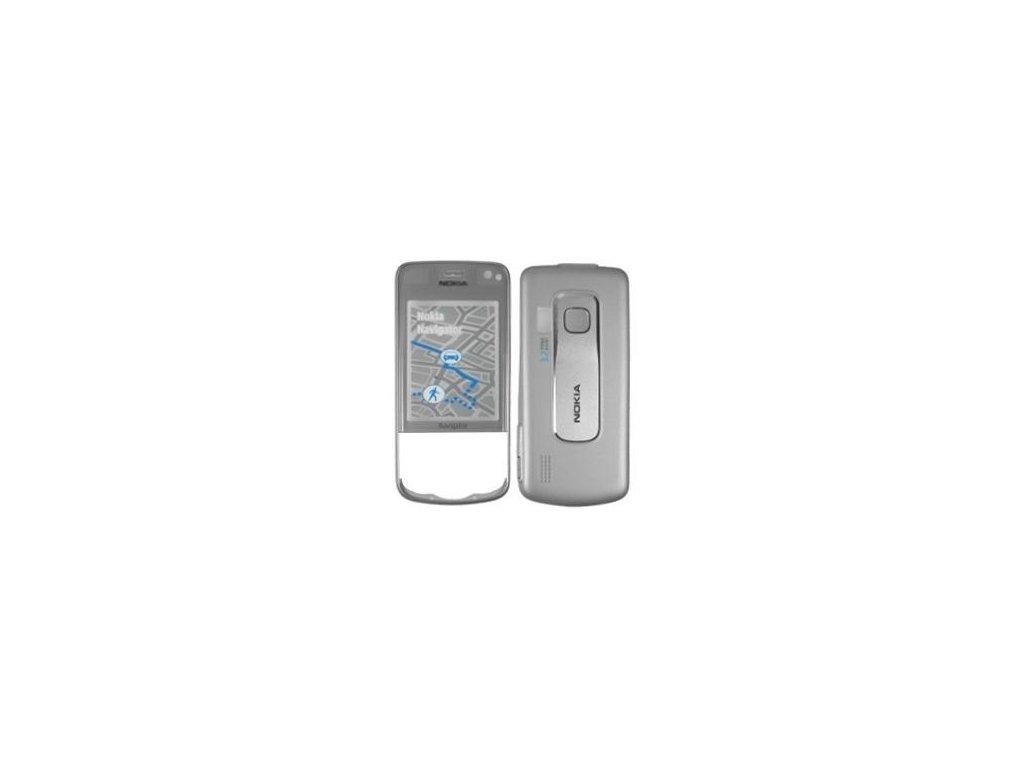 NOKIA 6210 Navigator kryt grey / šedý
