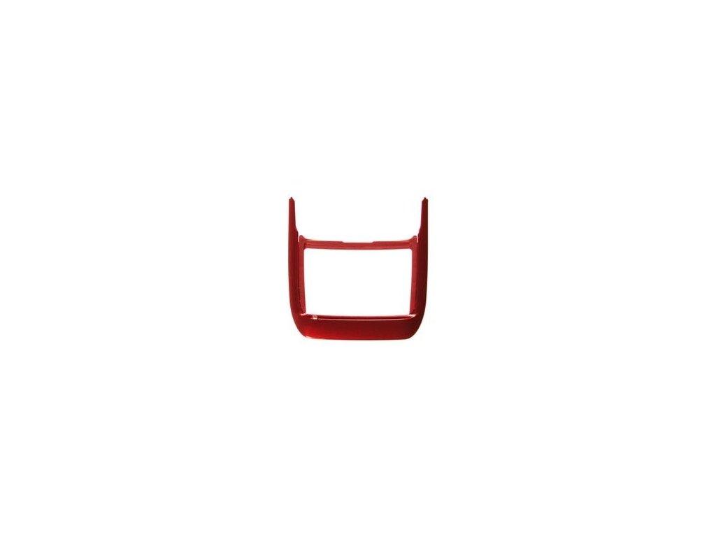 NOKIA E66 kryt klávesnice red steel / červený