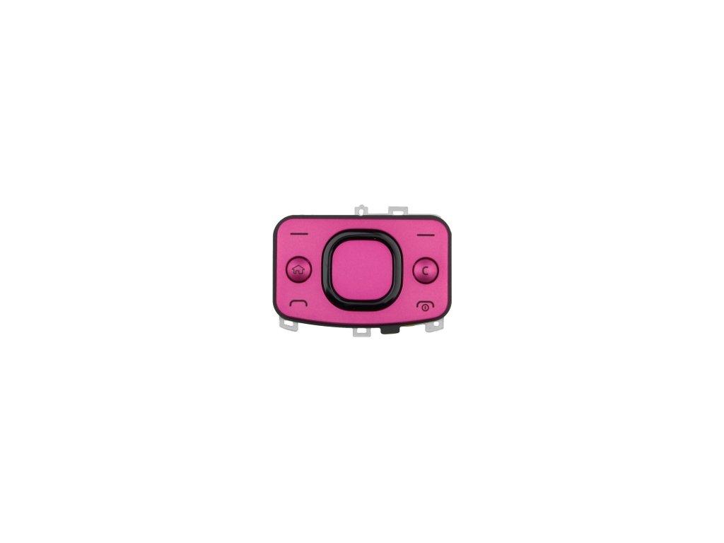 NOKIA 6700 Slide vrchní klávesnice pink / růžová