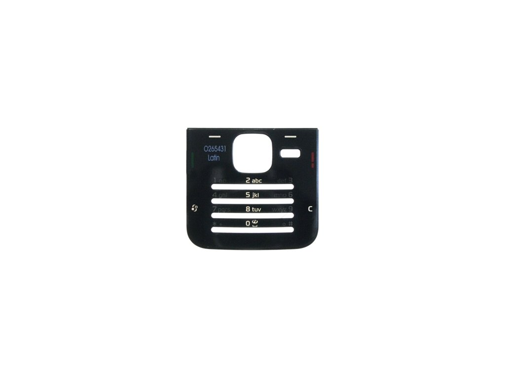 NOKIA N78 kryt klávesnice black / černý