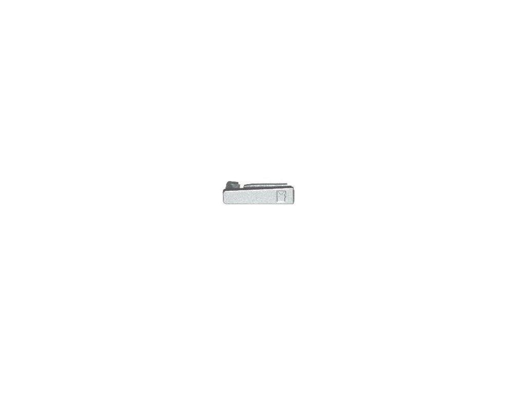 NOKIA E72 krytka SD karty metal grey / šedá