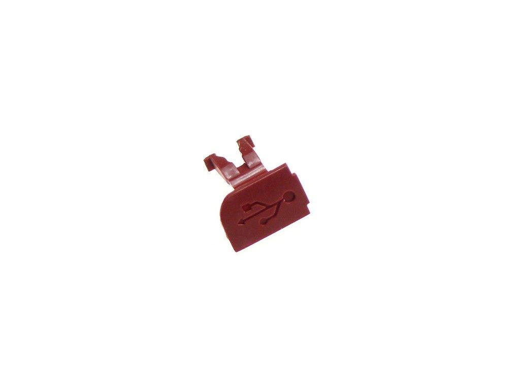 NOKIA 6300 krytka USB red / červená