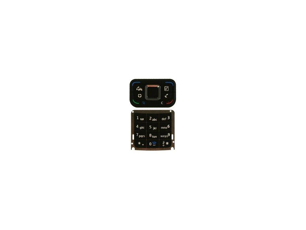 NOKIA E65 klávesnice black / černá