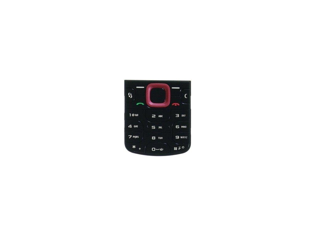 NOKIA 5320 XpressMusic klávesnice red / červená