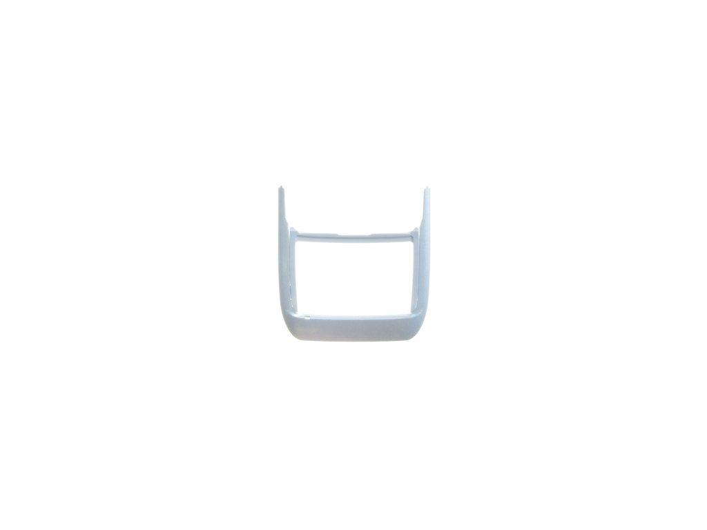 NOKIA E66 kryt klávesnice white steel / bílý
