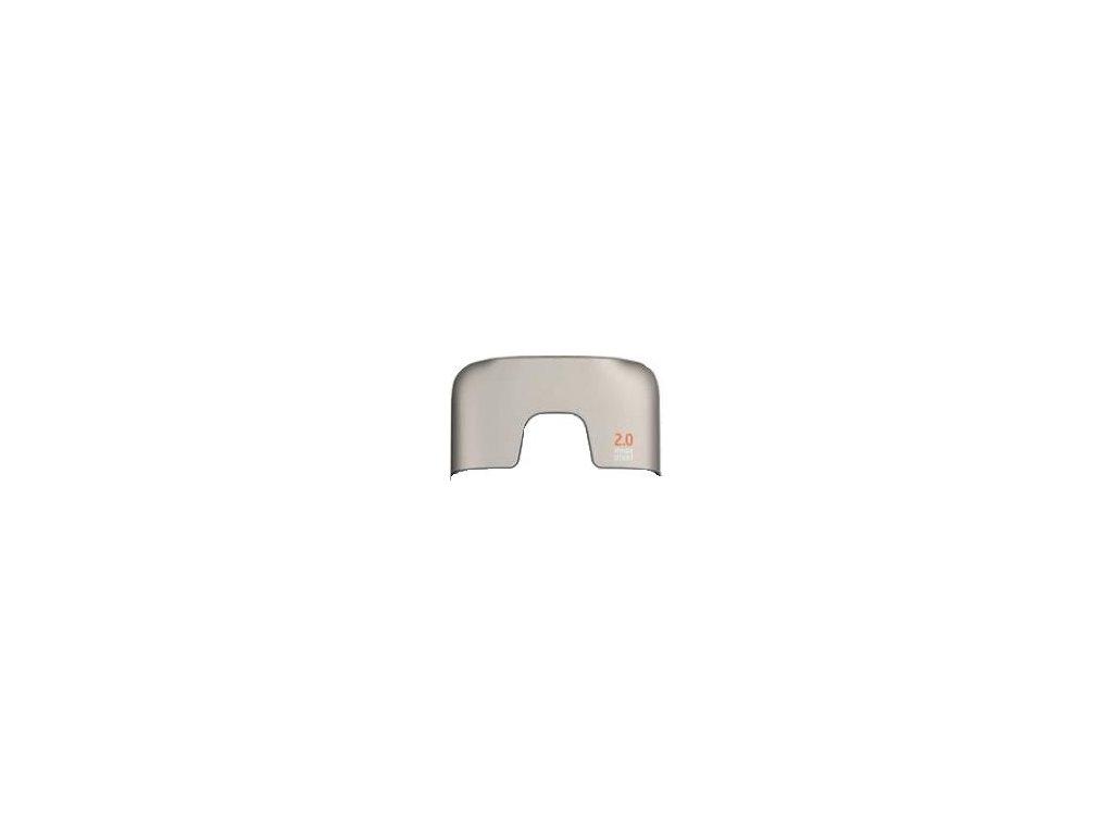 NOKIA 2710 Navigator kryt antény silver / stříbrný