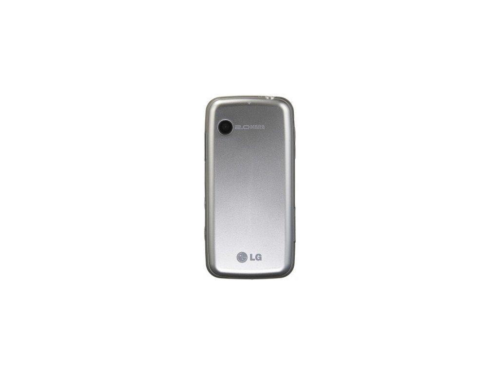 LG GS290 Cookie fesh zadní kryt silver / stříbrný