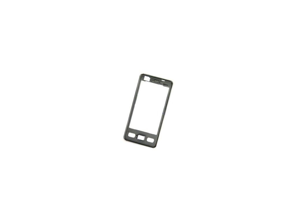 SAMSUNG S5260 Star2 přední kryt chrome / lesklý