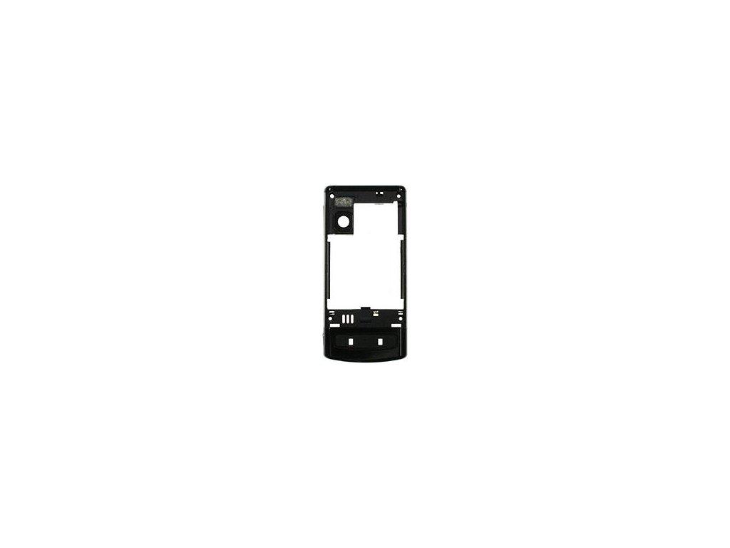 NOKIA 6500 Slide střední kryt black / černý