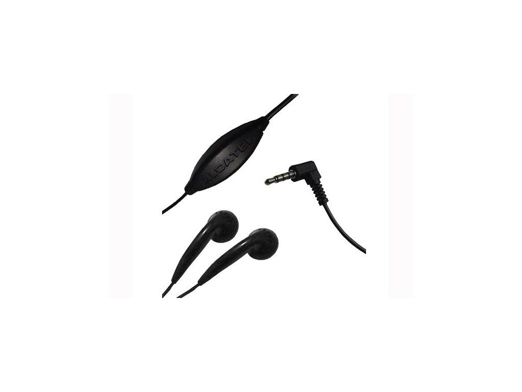 Alcatel CCB3000A12C2 stereo headset black / černý (bulk) 3,5mm