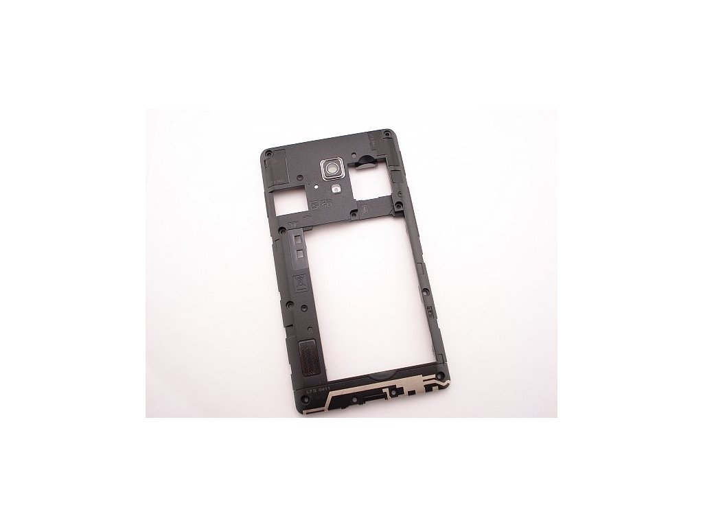 LG P710 Optimus L7 II střední kryt silver / stříbrný