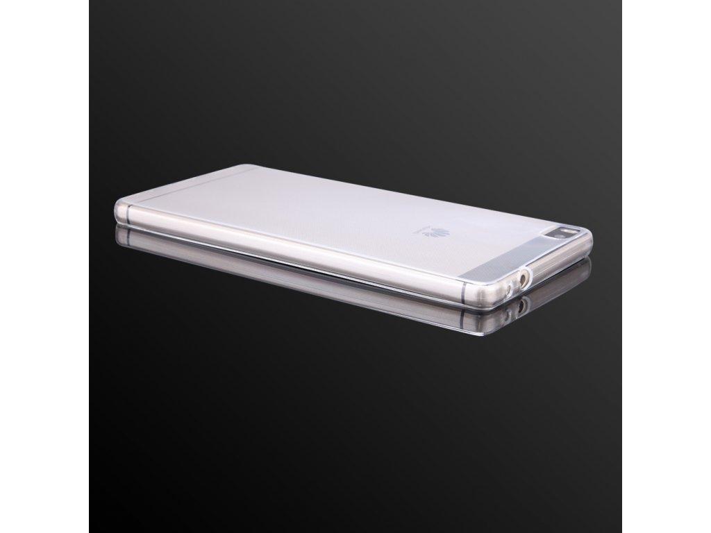 Pouzdro FITTY Ultra Tenké 0,3mm Huawei P8 Lite (ALE-L21) transparentní