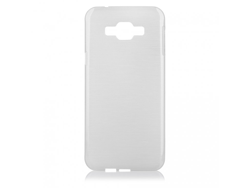Pouzdro JELLY Case Metalic Samsung A800 Galaxy A8 bílé - JHMobil.cz 9ff0b261275