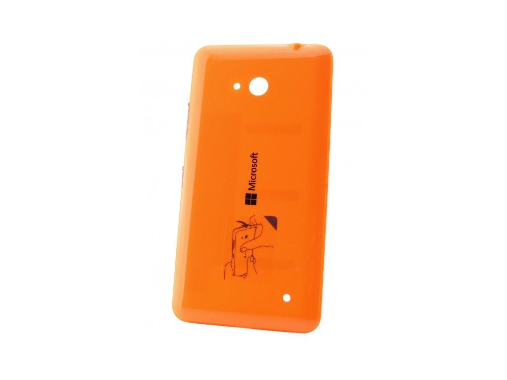 Microsoft Lumia 640 zadní kryt oranžový (02509P7)