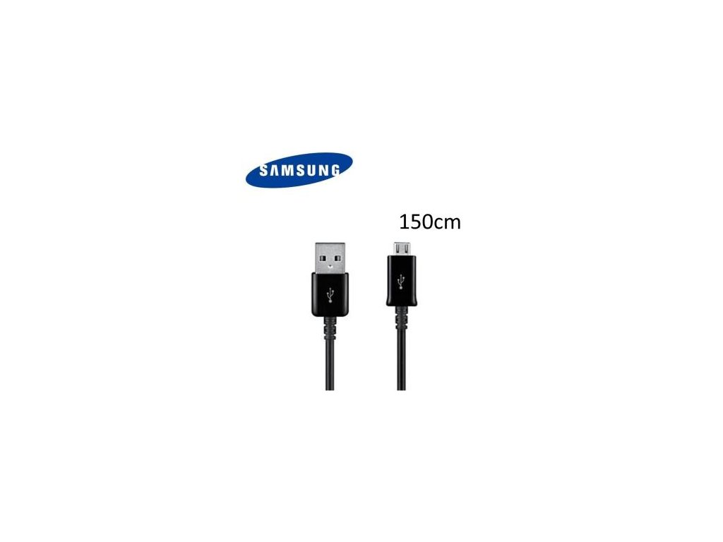 SAMSUNG datový kabel ECB-DU4EBE micro USB black (bulk) 150cm
