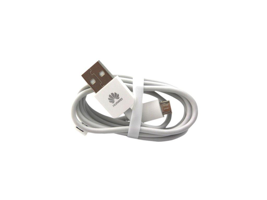 Huawei C02450768A micro USB datový kabel bílý (bulk)