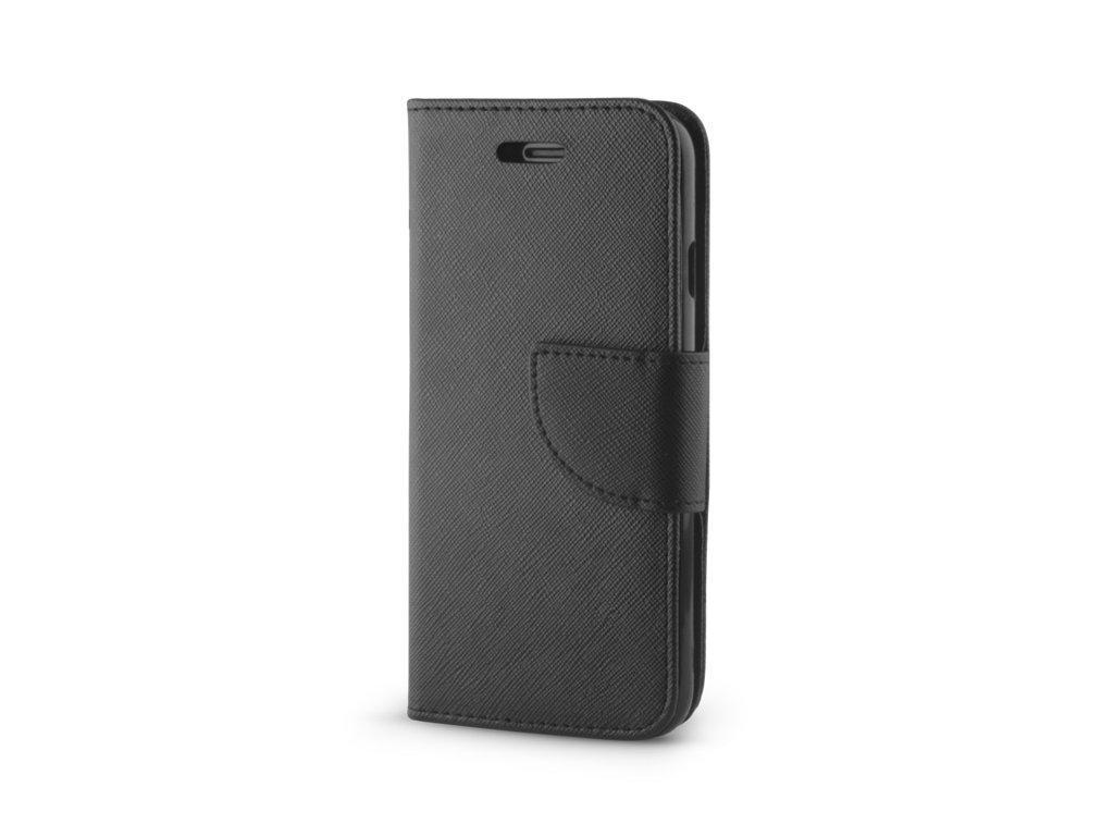 """Smart Book pouzdro univerzální pro telefony 4,7"""" - 5,3"""" černé (FAN EDITION)"""