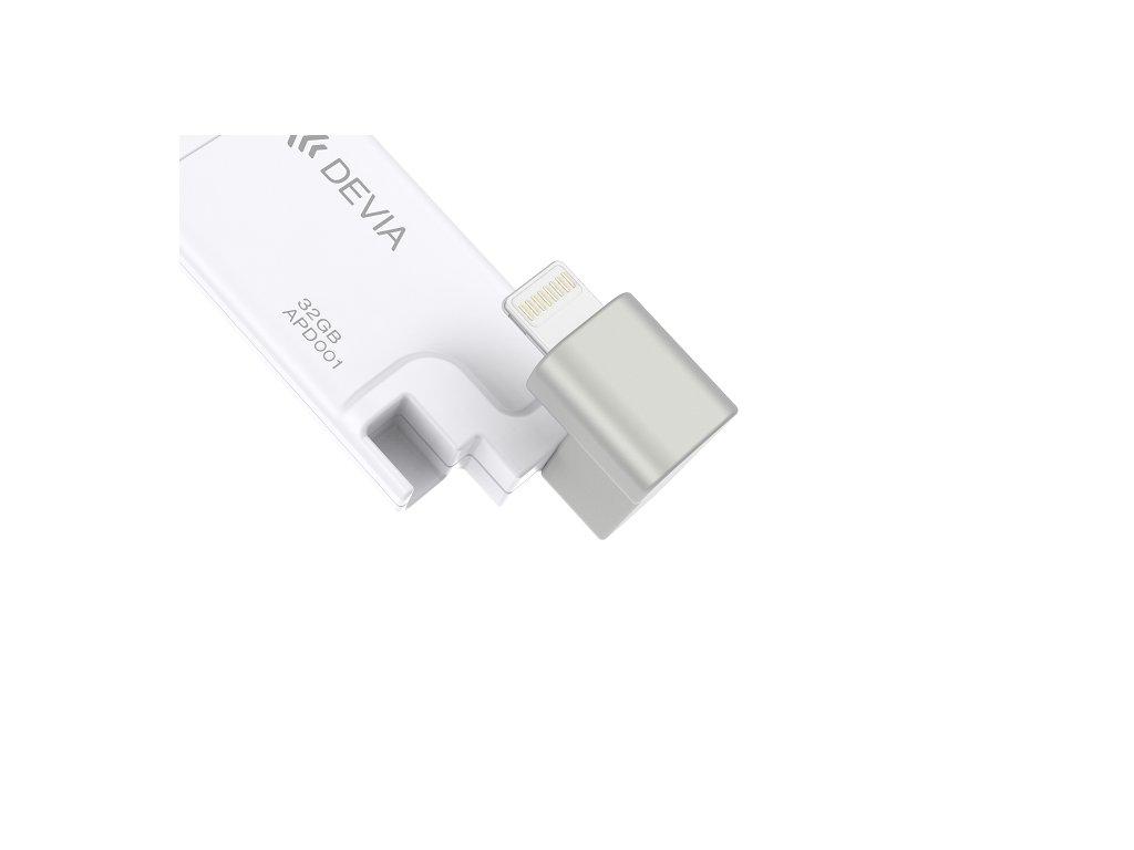 Devia iBox MFI externí paměť 32GB bílá