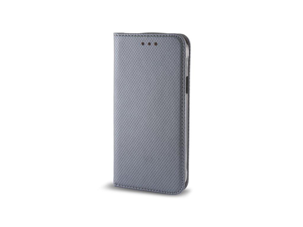 Pouzdro Smart Magnet pro Huawei P9 Lite MINI šedé