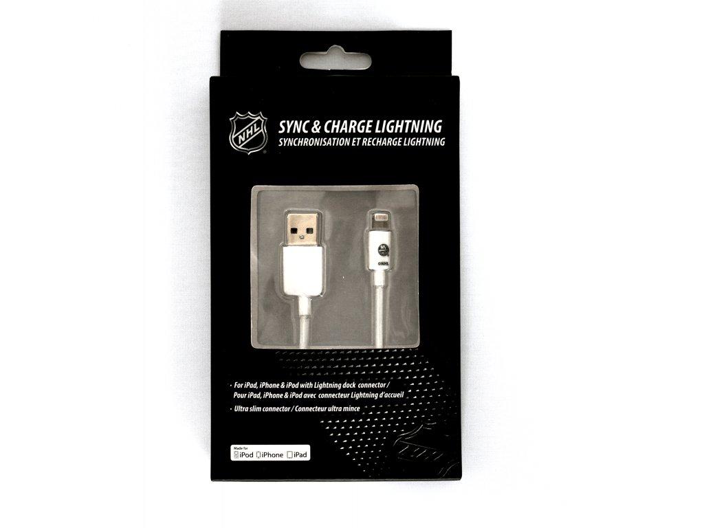 NHL lightning datový kabel pro iPhone / MFI - New York Islanders- LGX-11218