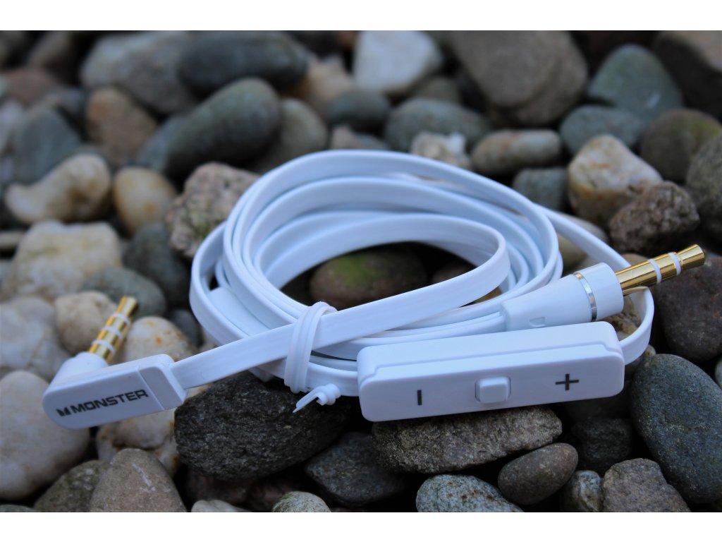 Nokia CA-197u audio kabel s ovládáním bílý