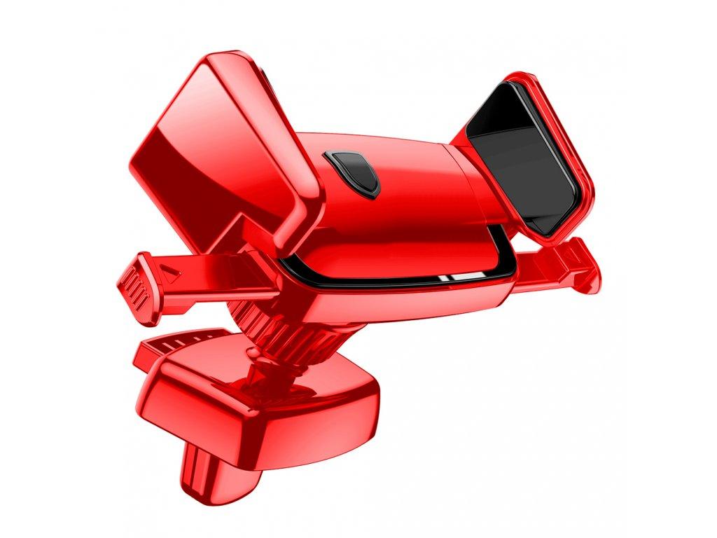 BASEUS Robot Car Bracket držák do mřížky ventilátoru, nastavitelný red / červný