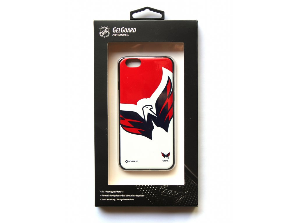 "NHL GelGuard LGX-11342 pouzdro iPhone 6 / 6S (4,7"") Washington Capitals"