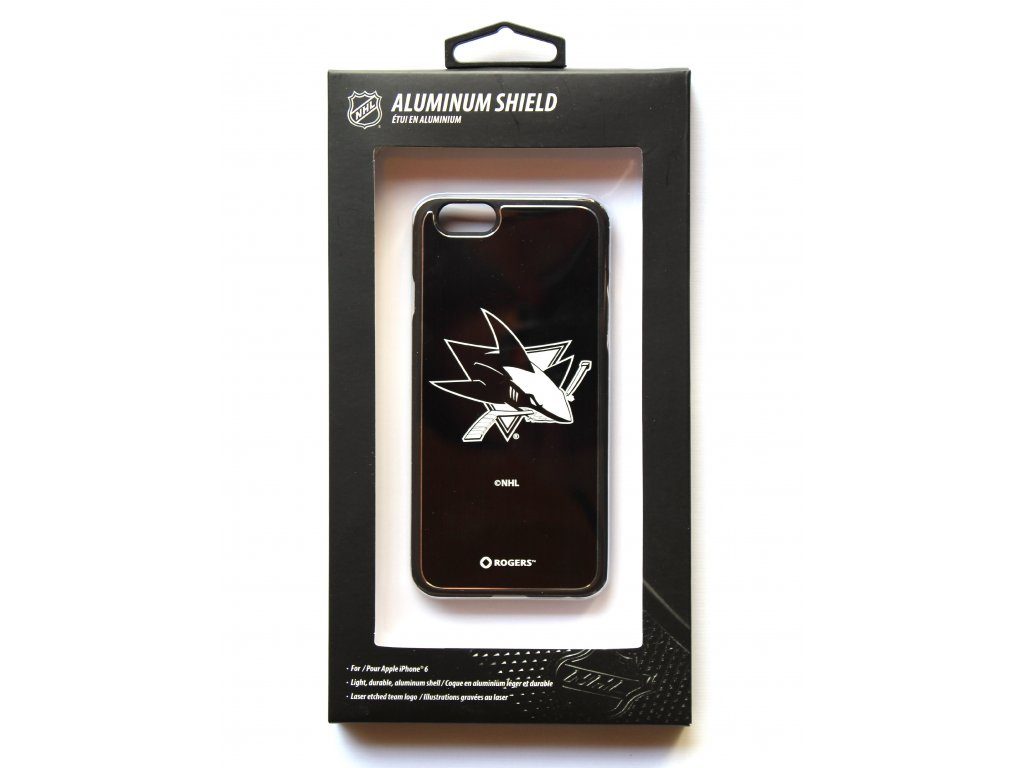 "NHL Aluminium Shield LGX-11558 pouzdro iPhone 6 / 6S (4,7"") San Jose Sharks"