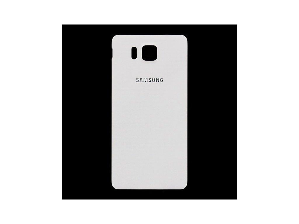 SAMSUNG G850 Galaxy Alpha zadní kryt white / bílý