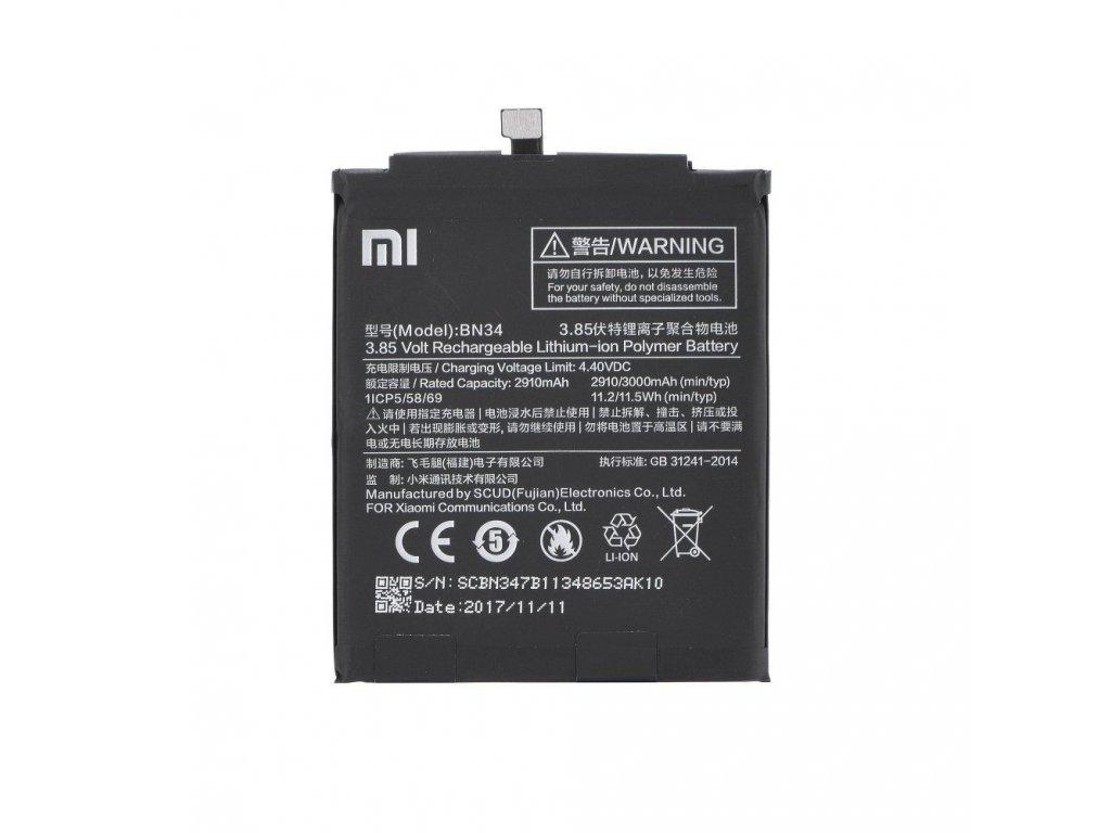 Xiaomi baterie BN34, RedMi 5A - 3000 mAh (bulk)