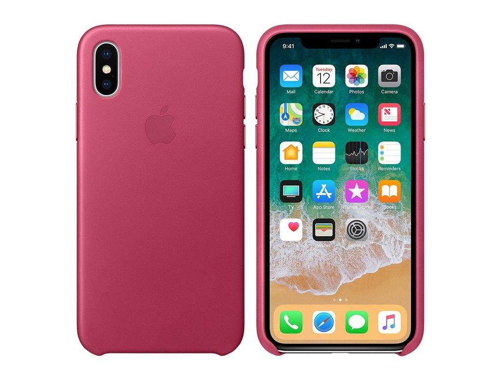 Apple MQTJ2ZM/A pouzdro iPhone X fuchsia pink