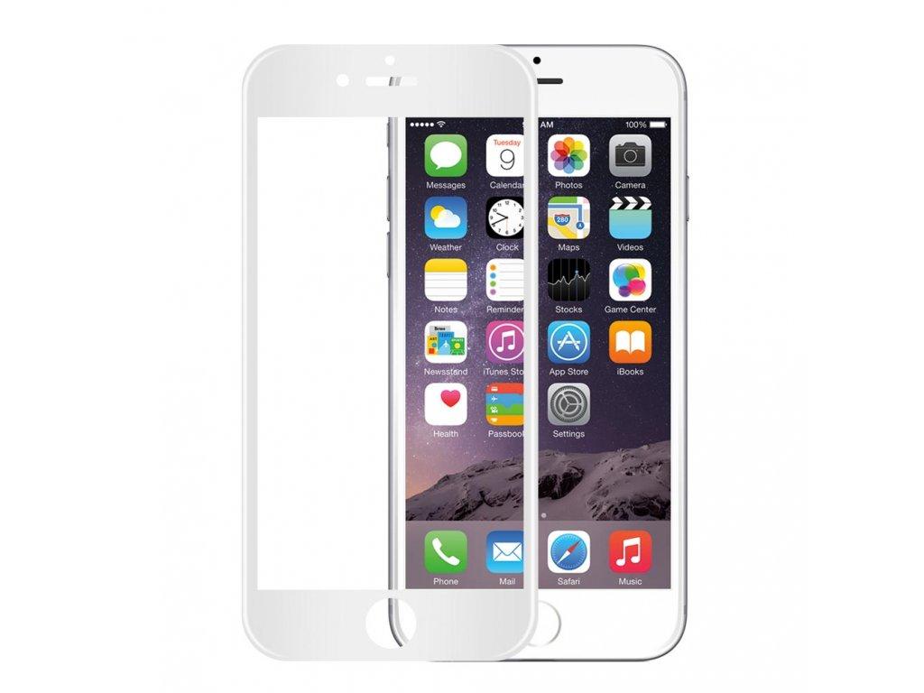 "Wozinsky ochranné sklo pro iPhone 6 Plus / 6S Plus (5.5"") zahnuté bílé, soft frame"