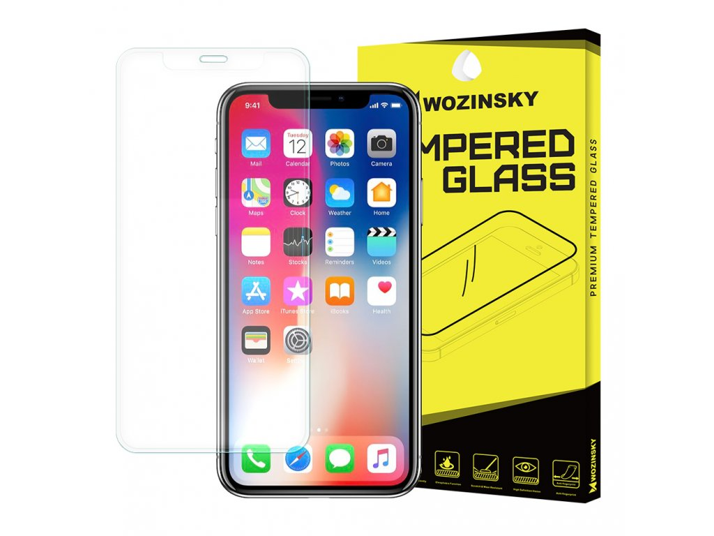 Wozinsky ochranné tvrzené sklo pro iPhone X / Xs 9H / zahnuté čiré 7426825340757