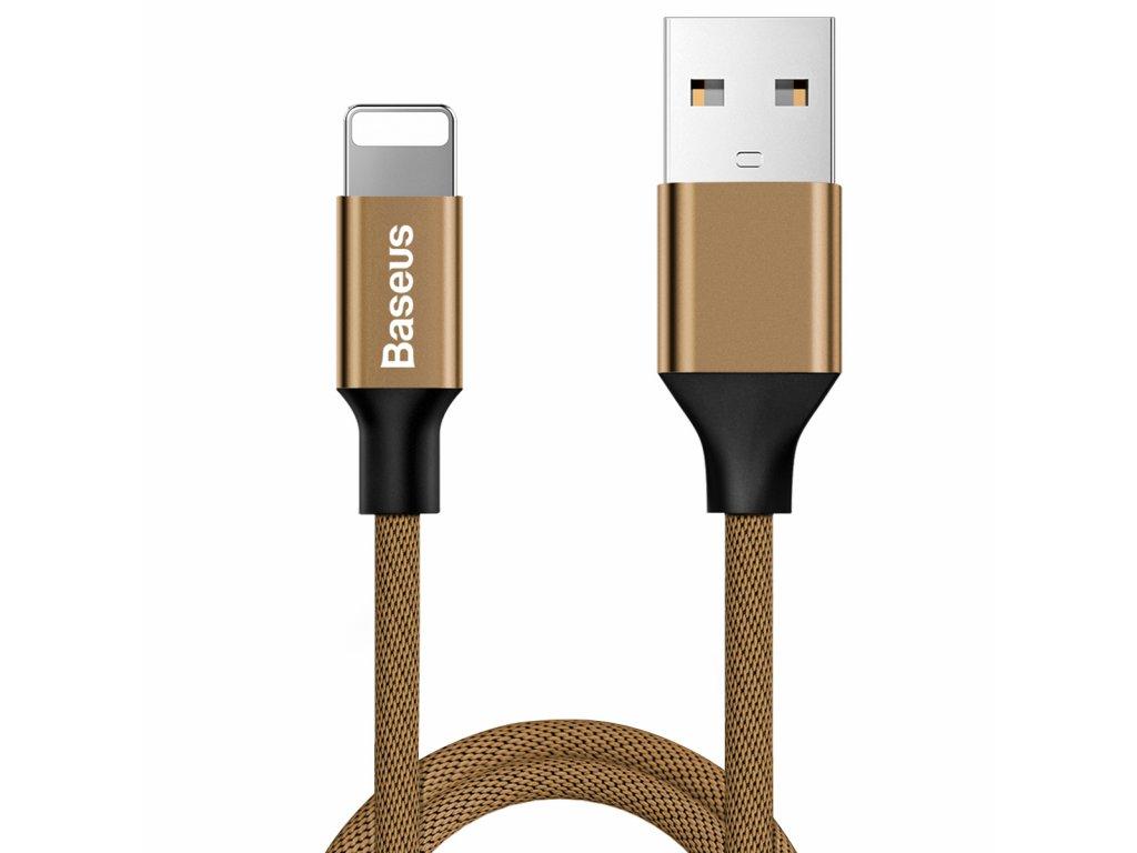Baseus Yiven USB kabel - iPhone lightning / 1,2m / 2A cofee CALYW-12
