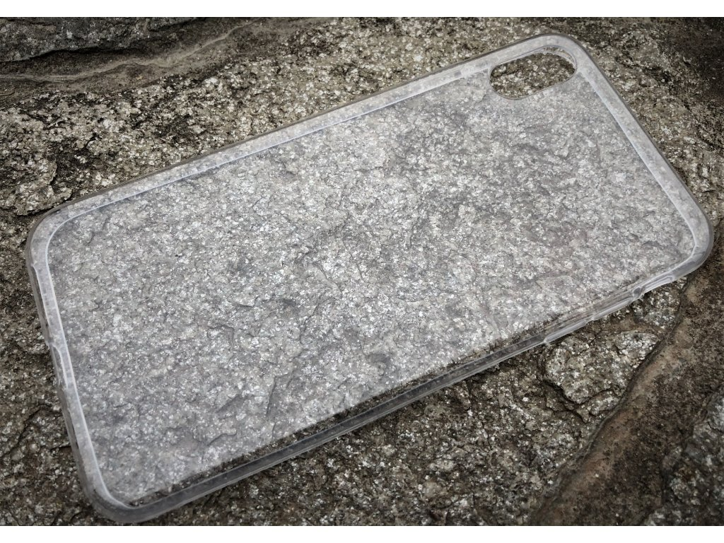 Pouzdro FITTY Ultra Tenké 0,3mm iPhone XS Max transparentní