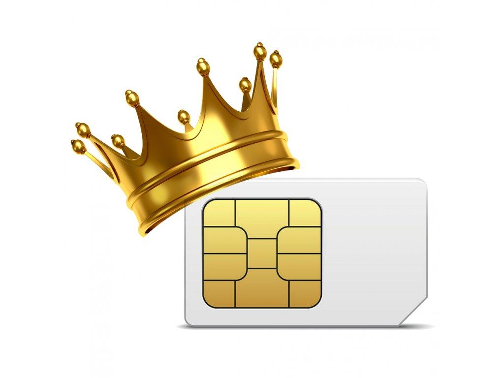 Sim karta - 731 588 589