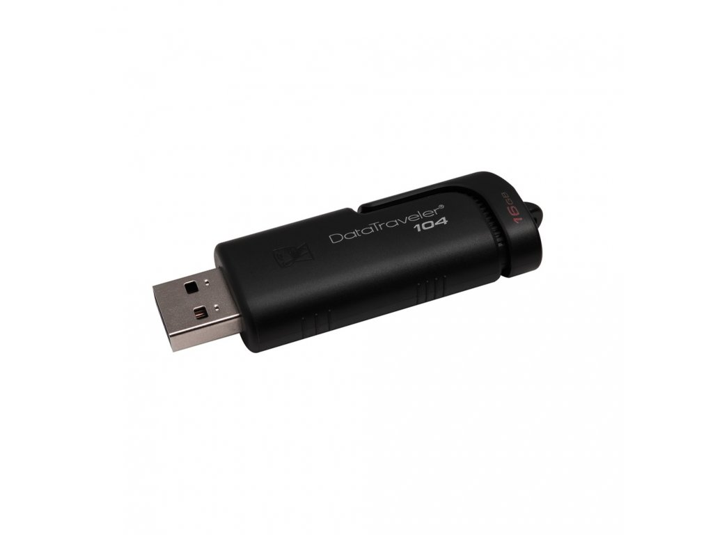 Kingston DT104 USB 2.0 Flash disk 16GB černý