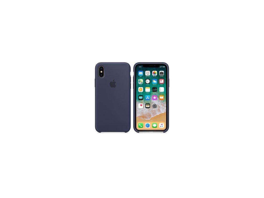 Apple MQT32ZM/A pouzdro iPhone X / Xs midnight blue (volně, rozbaleno)