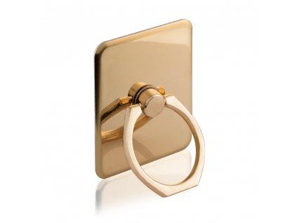 Ring držák telefonu na prst, opěrka zlatý
