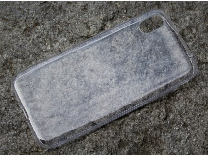 Pouzdro FITTY Ultra Tenké 0,3mm Huawei Y5 2019 transparentní