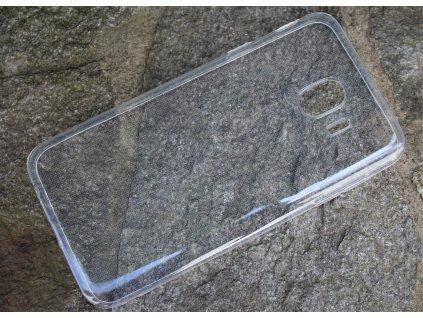 Pouzdro FITTY Ultra Tenké 0,3mm Samsung J400 Galaxy J4 2018 transparentní