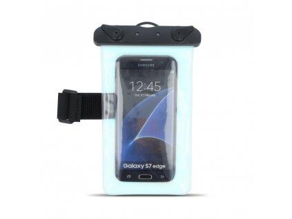 """Voděodolné univerzální armband pouzdro 5,5"""" modré"""