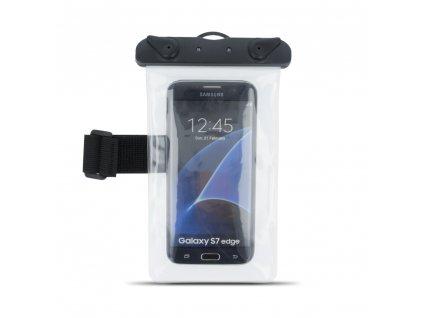"""Voděodolné univerzální armband pouzdro 5,5"""" transparent"""