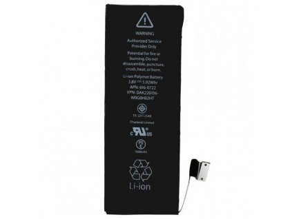 Baterie pro Apple iPhone 5S APN: 616-0722 - 1560 mAh (bulk) - HQ